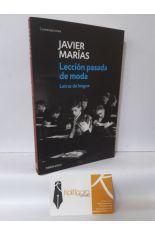 LECCIÓN PASADA DE MODA, LETRAS DE LENGUA