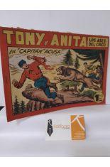 CAPITÁN ACUSA. TONY Y ANITA, LOS ASES DEL CIRCO 128
