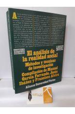 EL ANÁLISIS DE LA REALIDAD SOCIAL. MÉTODOS Y TÉCNICAS DE INVESTIGACIÓN