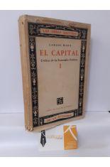 EL CAPITAL I. CRÍTICA DE LA ECONOMÍA POLÍTICA