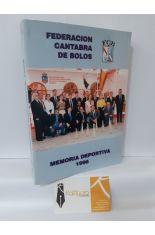 MEMORIA DEPORTIVA DE LA FEDERACIÓN CÁNTABRA DE BOLOS 1996