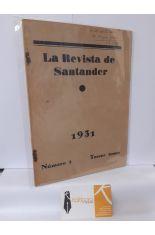 LA REVISTA DE SANTANDER 1931. NÚMERO 1 TERCER TOMO