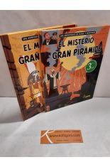 EL MISTERIO DE LA GRAN PIRÁMIDE (2 TOMOS). LAS AVENTURAS DE BLAKE Y MORTIMER