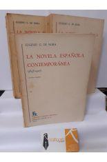 LA NOVELA CONTEMPORÁNEA ESPAÑOLA (1898-1927) 3 TOMOS