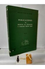 PUBLICACIONES DEL INSTITUTO DE ETNOGRAFÍA Y FOLKLORE HOYOS SAINZ. VOL II