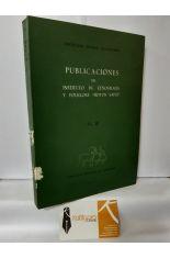 PUBLICACIONES DEL INSTITUTO DE ETNOGRAFÍA Y FOLKLORE HOYOS SAINZ. VOL III
