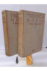 TEOLOGÍA MORAL PARA SEGLARES (2 TOMOS). 1, MORAL FUNDAMENTAL Y ESPECIAL; 2, LOS SACRAMENTOS