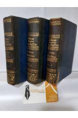 DISCURSOS Y TEORÍA DE LA TIERRA, TOMOS 1, 2, 3, 4, 5 Y 6 (3 VOLÚMENES). OBRAS COMPLETAS DE BUFFON