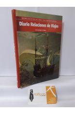 DIARIO - RELACIONES DE VIAJES