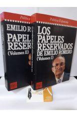 LOS PAPELES RESERVADOS DE EMILIO ROMERO (2 TOMOS)