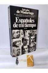 ESPAÑOLES DE MI TIEMPO