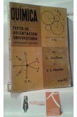 QUÍMICA. TEXTO DE ORIENTACIÓN UNIVERSITARIA, CUESTIONARIO NACIONAL.