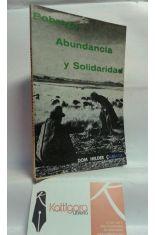 POBREZA, ABUNDANCIA Y SOLIDARIDAD