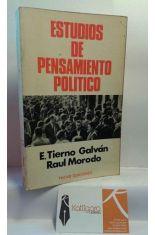 ESTUDIOS DE PENSAMIENTO POLÍTICO