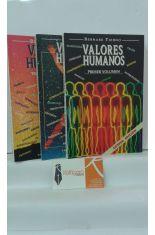 VALORES HUMANOS (VOLÚMENES 1, 2 Y 3)