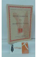 ESTUDIO ELEMENTAL DE LA GRAMÁTICA VASCA