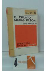 EL DIFUNTO MATÍAS PASCUAL