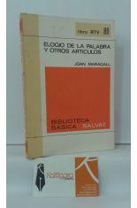 ELOGIO DE LA PALABRA Y OTROS ARTÍCULOS