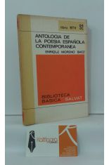 ANTOLOGÍA DE LA POESÍA ESPAÑOLA CONTEMPORÁNEA