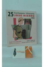 25 CERTAMEN LITERARIO JOSÉ HIERRO