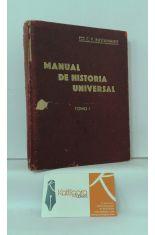 MANUAL DE HISTORIA UNIVERSAL. TOMO I:  PREHISTORIA Y PUEBLOS ORIENTALES