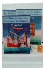 LOS LIBROS DE ACUERDOS MUNICIPALES DE SANTANDER. 3 TOMOS: 1701-1765, 1766-1785 Y 1786-1800