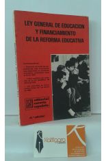 LEY GENERAL DE EDUCACIÓN Y FINANCIAMIENTO DE LA REFORMA EDUCATIVA