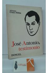 JOSÉ ANTONIO, TESTIMONIO