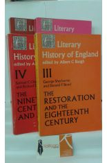 LITERARY HISTORY OF ENGLAND 1, THE MIDDLE AGES. 2, THE RENAISSANCE. 3, THE RESTORATION AND THE EIGHTEENTH CENTURY. 4, THE NINETEENTH CENTURY AND AFTER