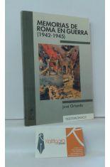 MEMORIAS DE ROMA EN GUERRA (1942-1945)