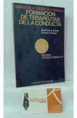 FORMACIÓN DE TERAPEUTAS DE LA CONDUCTA. MODIFICACIÓN DE CONDUCTA EN LA INFANCIA 4