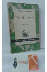 DE MI PAÍS. DESCRIPCIONES, RELATOS Y ARTÍCULOS DE COSTUMBRES