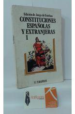 CONSTITUCIONES ESPAÑOLAS Y EXTRANJERAS 1
