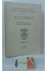ALTAMIRA. REVISTA DEL CENTRO DE ESTUDIOS MONTAÑESES. TOMO XLIV