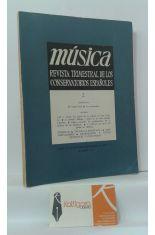 MÚSICA. REVISTA TRIMESTRAL DE LOS CONSERVATORIOS ESPAÑOLES. VOLUMEN 2