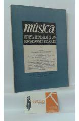 MÚSICA. REVISTA TRIMESTRAL DE LOS CONSERVATORIOS ESPAÑOLES. VOLUMEN 7