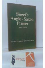 SWEET'S ANGLO-SAXON PRIMER