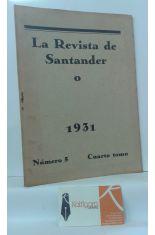 LA REVISTA DE SANTANDER 1931. NÚMERO 5. CUARTO TOMO