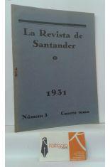 LA REVISTA DE SANTANDER 1931. NÚMERO 3. CUARTO TOMO.