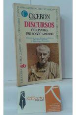 DISCURSOS. CATILINARIAS PRO ROSCIO AMERINO