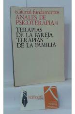ANALES DE PSICOTERAPIA 4. TERAPIAS DE LA PAREJA, TERAPIAS DE LA FAMILIA