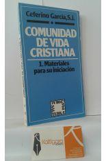 COMUNIDAD DE VIDA CRISTIANA. 1, MATERIALES PARA SU INICIACIÓN