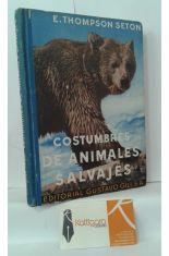 COSTUMBRES DE ANIMALES SALVAJES