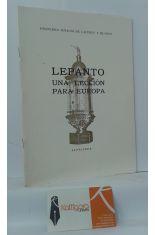 LEPANTO, UNA LECCIÓN PARA EUROPA