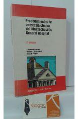 PROCEDIMIENTOS DE ANESTESIA CLÍNICA DEL MASSACHUSETTS GENERAL HOSPITAL