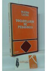 VOCABULARIO DE PEDAGOGÍA