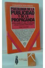 PSICOLOGÍA DE LA PUBLICIDAD Y DE LA PROPAGANDA. CONOCIMIENTO DEL PROBLEMA, APLICACIONES PRÁCTICAS
