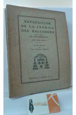 REFUNDICIÓN DE LA CRÓNICA DEL HALCONERO