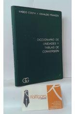DICCIONARIO DE UNIDADES Y TABLAS DE CONVERSIÓN