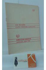 CINE BRASILEÑO, CUATRO DIRECTORES AMERICANOS. SANTANDER, ABRIL 1974